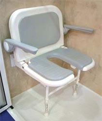 handicapped shower seat